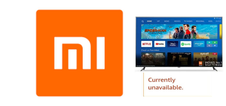 Mi Store, Flipkart ,Amazon Unofficially Removes Xiaomi Mi 4X 65 Inch Tv