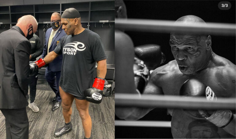 Iron Mike Tyson Proves That Age Is Just  A Figure Not To Count On !