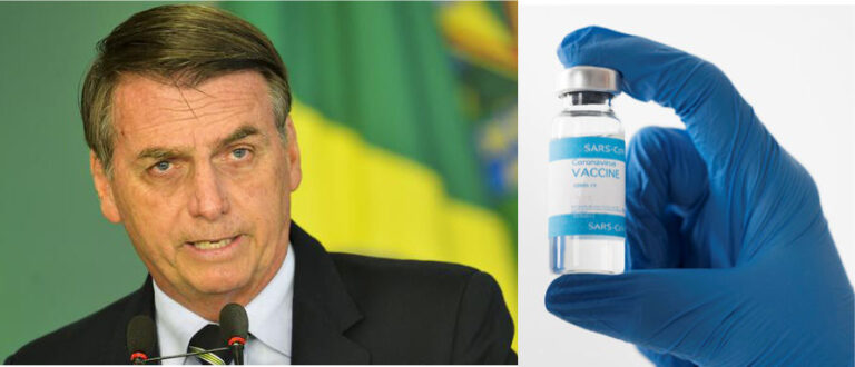 Brazilian President Shares A Bizzare Note Reguarding Recent Covid-19 Vaccine