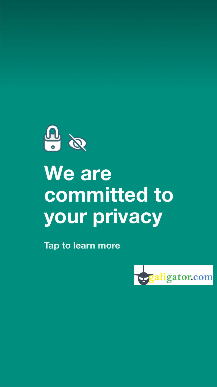 We are committed to your privacy